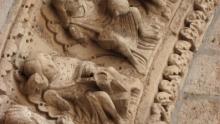 Detalle portada Iglesia de Santiago